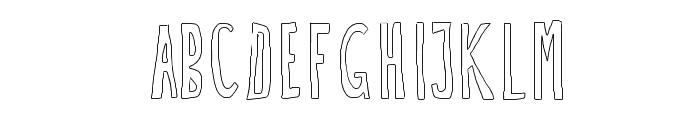 Doozy Font UPPERCASE