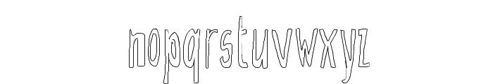 Doozy Font LOWERCASE