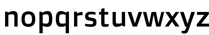 DoppioOne-Regular Font LOWERCASE