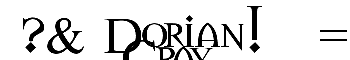 Dorian Gray Font OTHER CHARS