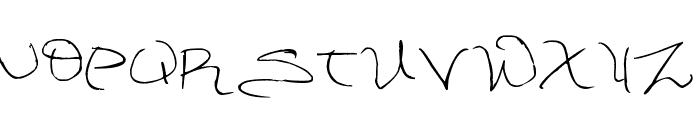 DorkifiedDistortion Font UPPERCASE