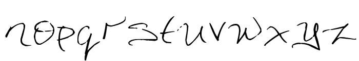 DorkifiedDistortion Font LOWERCASE