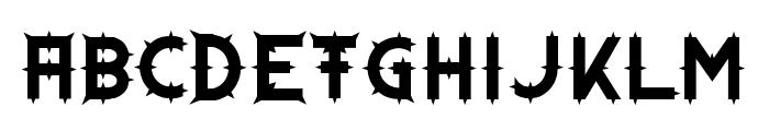 Dornen Font LOWERCASE