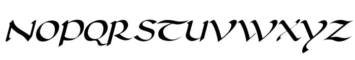 DorovarFLF-Italic Font UPPERCASE