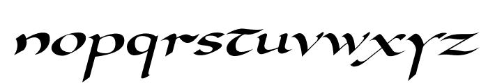 DorovarFLF-Italic Font LOWERCASE