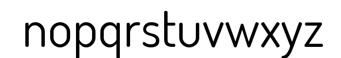 Dosis Book Font LOWERCASE
