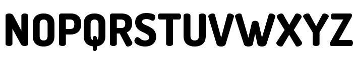 Dosis ExtraBold Font UPPERCASE