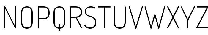 Dosis-ExtraLight Font UPPERCASE