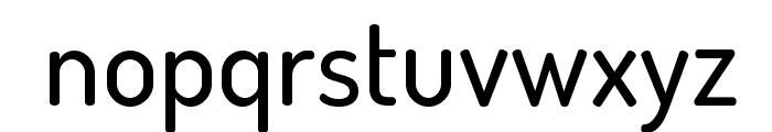 Dosis-Medium Font LOWERCASE