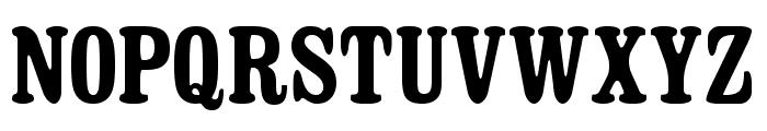 Dosmilcatorce Font UPPERCASE