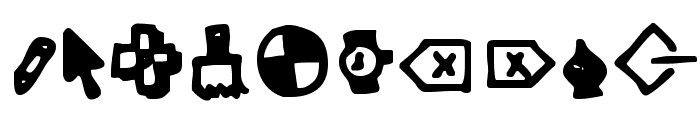 Dot Com Font OTHER CHARS