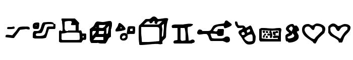 Dot Com Font LOWERCASE