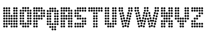 Dot Spot Font LOWERCASE