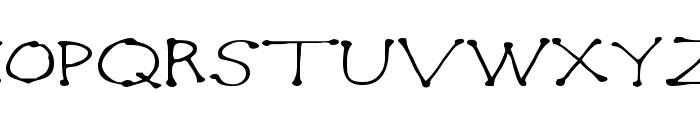 Dot2Dot Font UPPERCASE