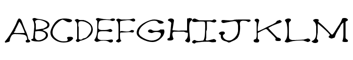 Dot2Dot Font LOWERCASE