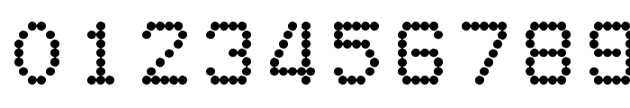 DotMatrix Font OTHER CHARS