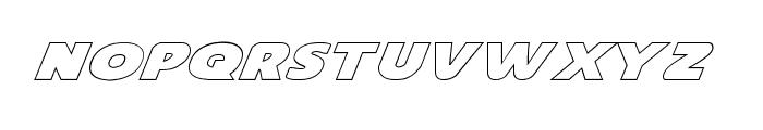 Dot.com Outline Font LOWERCASE