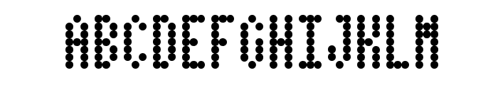 Dotimatrix 3 Font UPPERCASE