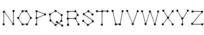 Dotnation Font UPPERCASE