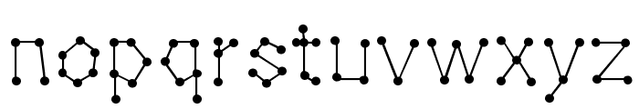 Dotnation Font LOWERCASE