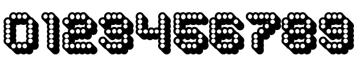 Dots All For Now 3D JL Font OTHER CHARS
