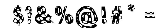 Dottie B. MacSpotter Font OTHER CHARS