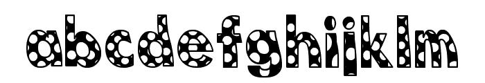 Dottie B. MacSpotter Font LOWERCASE