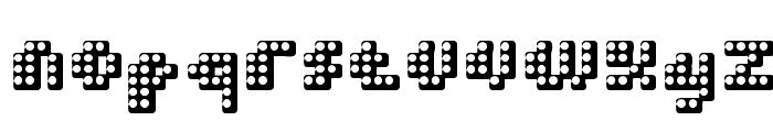 Double Strike Font LOWERCASE