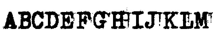 Double Studio Font UPPERCASE