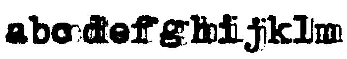 Double Studio Font LOWERCASE