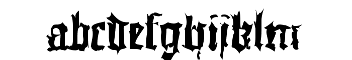 DoubleBrokenTextura Font LOWERCASE