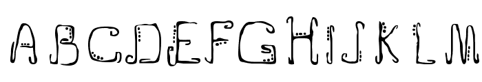 Doublejoint Font UPPERCASE