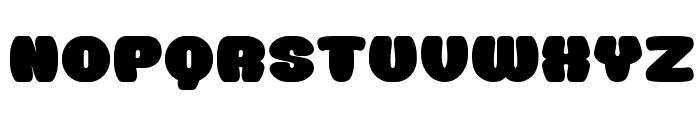 Doughnut Monster__G Font UPPERCASE