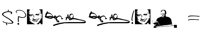 Douglas Adams Hand Font OTHER CHARS
