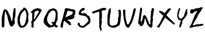 Doujinshi Font LOWERCASE