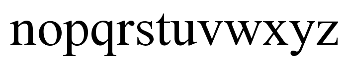 Doulos SIL Compact Font LOWERCASE
