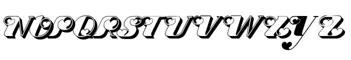 Dove Love Font UPPERCASE