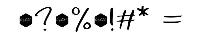 DowntownDEMO-Regular Font OTHER CHARS
