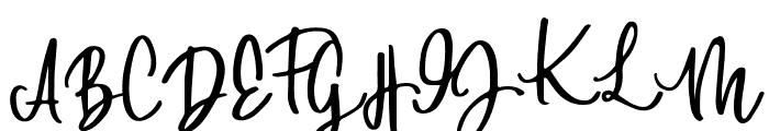 DowntownDEMO-Regular Font UPPERCASE