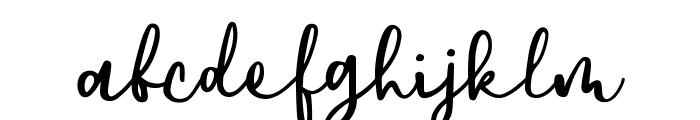 DowntownDEMO-Regular Font LOWERCASE