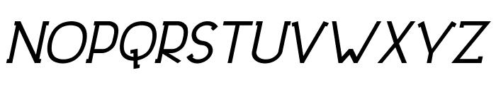 DowntownElegance-BoldItalic Font UPPERCASE