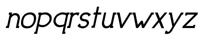 DowntownElegance-BoldItalic Font LOWERCASE