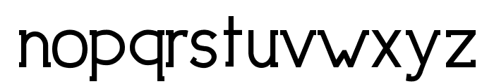 DowntownElegance-Bold Font LOWERCASE