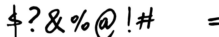 donanfer_font Font OTHER CHARS