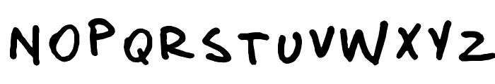 donanfer_font Font LOWERCASE