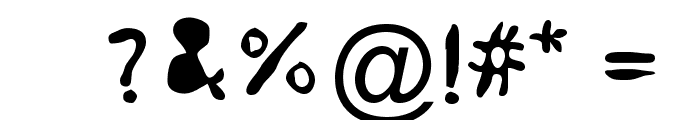 dope 714 Font OTHER CHARS