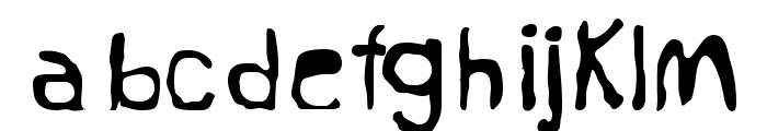 dope 714 Font LOWERCASE