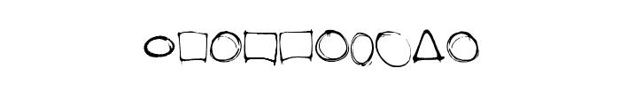 dopeframes Font OTHER CHARS
