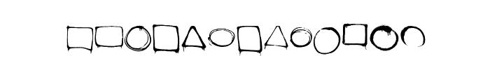 dopeframes Font LOWERCASE