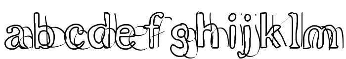 double Font LOWERCASE